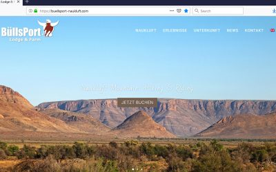 Neue Adresse im Web