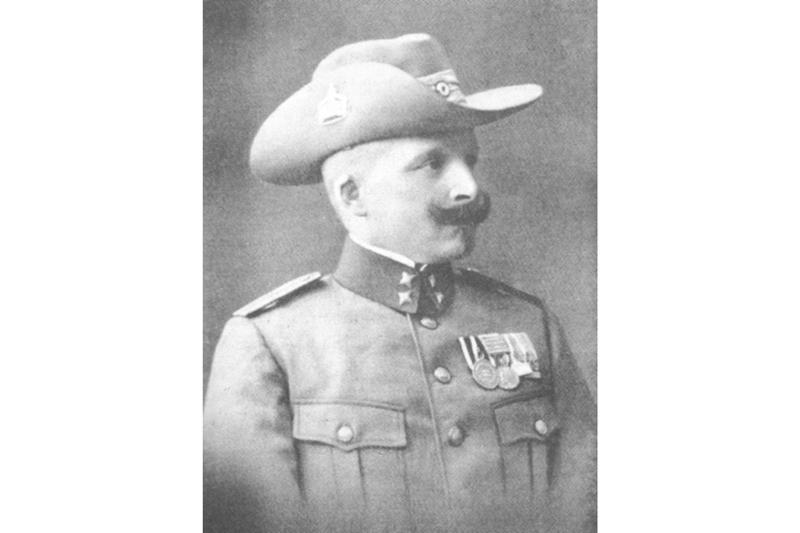 Rudolf Rogge Polizist Polizeiwachtmeister Polizeistation BüllsPort Naukluft