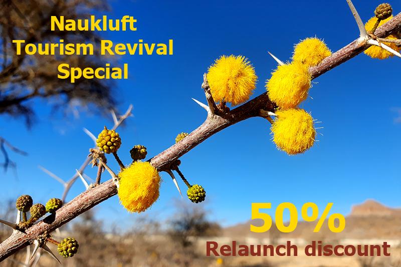 Tourism Revival Special 50% discount BüllsPort Naukluft Mountains