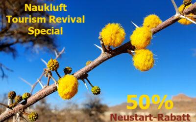 Naukluft winkt mit Revival Special