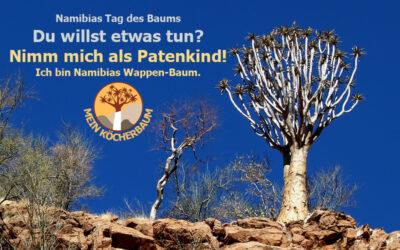 Köcherbaum zu gewinnen – am Tag des Baums
